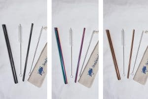 seastainable straws colours online