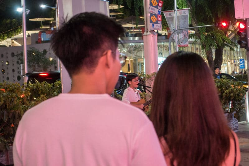 Alan Fong Youngest Busker 12